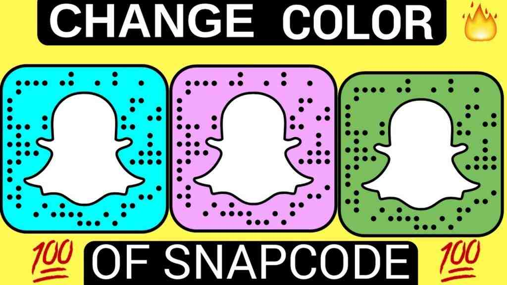 change snapcode color