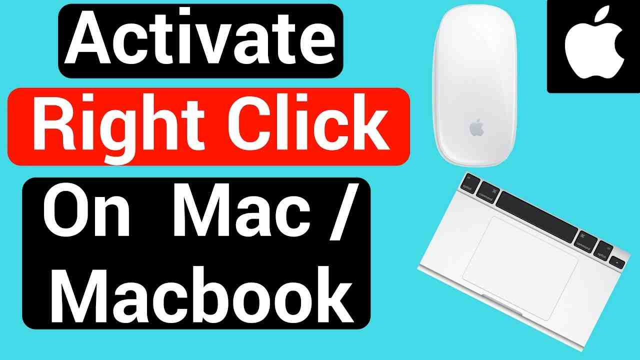activate right click on mac
