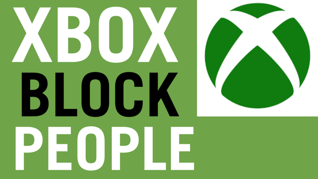 how to block people on xbox one