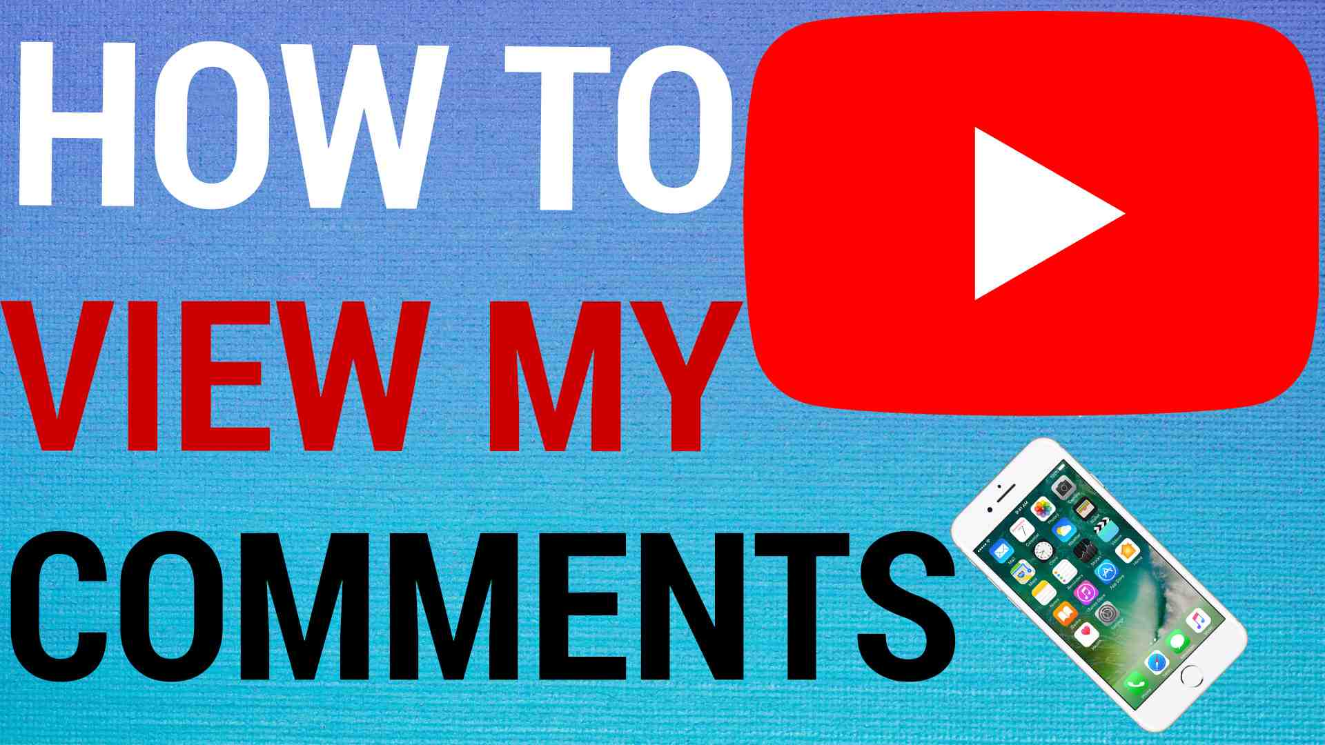 how to view youtube comment history