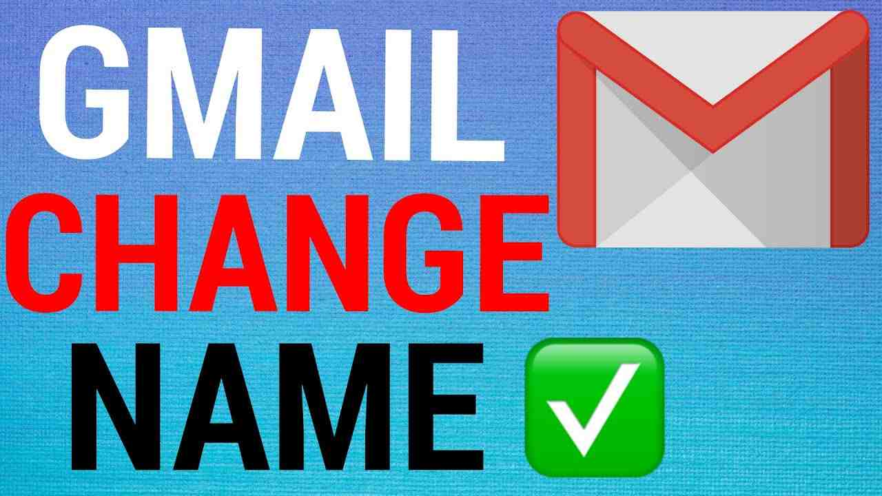 How To Change Your Name on Gmail!
