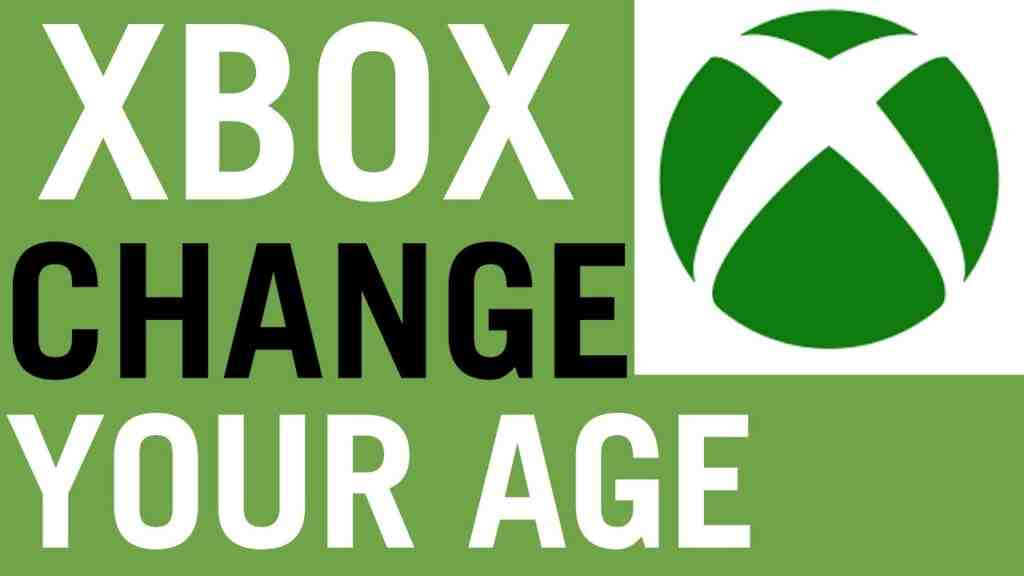 How To Change Age Of Xbox Account