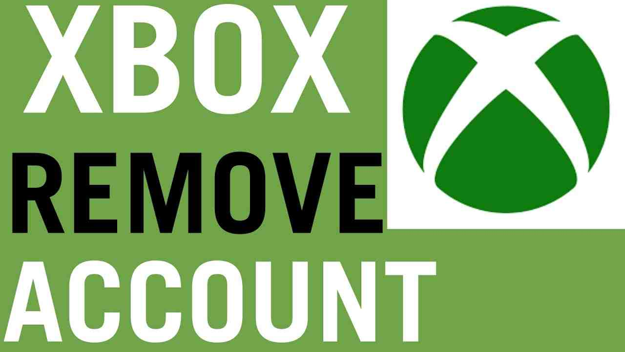 How To Remove User Accounts From Xbox One