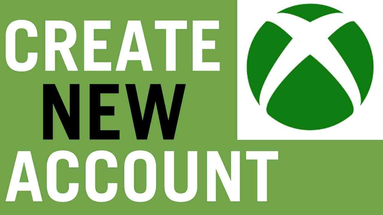 How To Create A New Xbox One Account