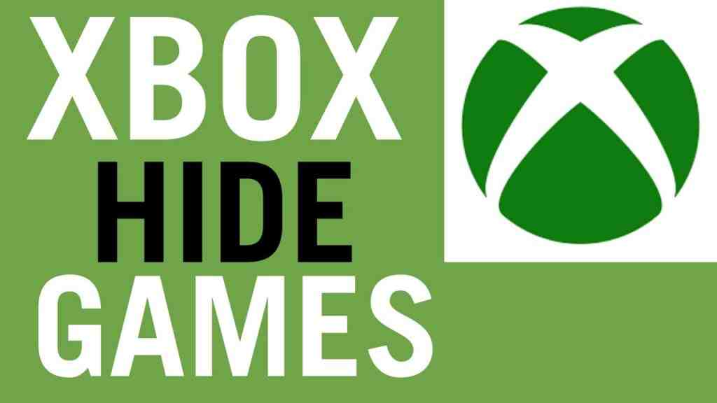 How To Hide and UnHide Games On Xbox One