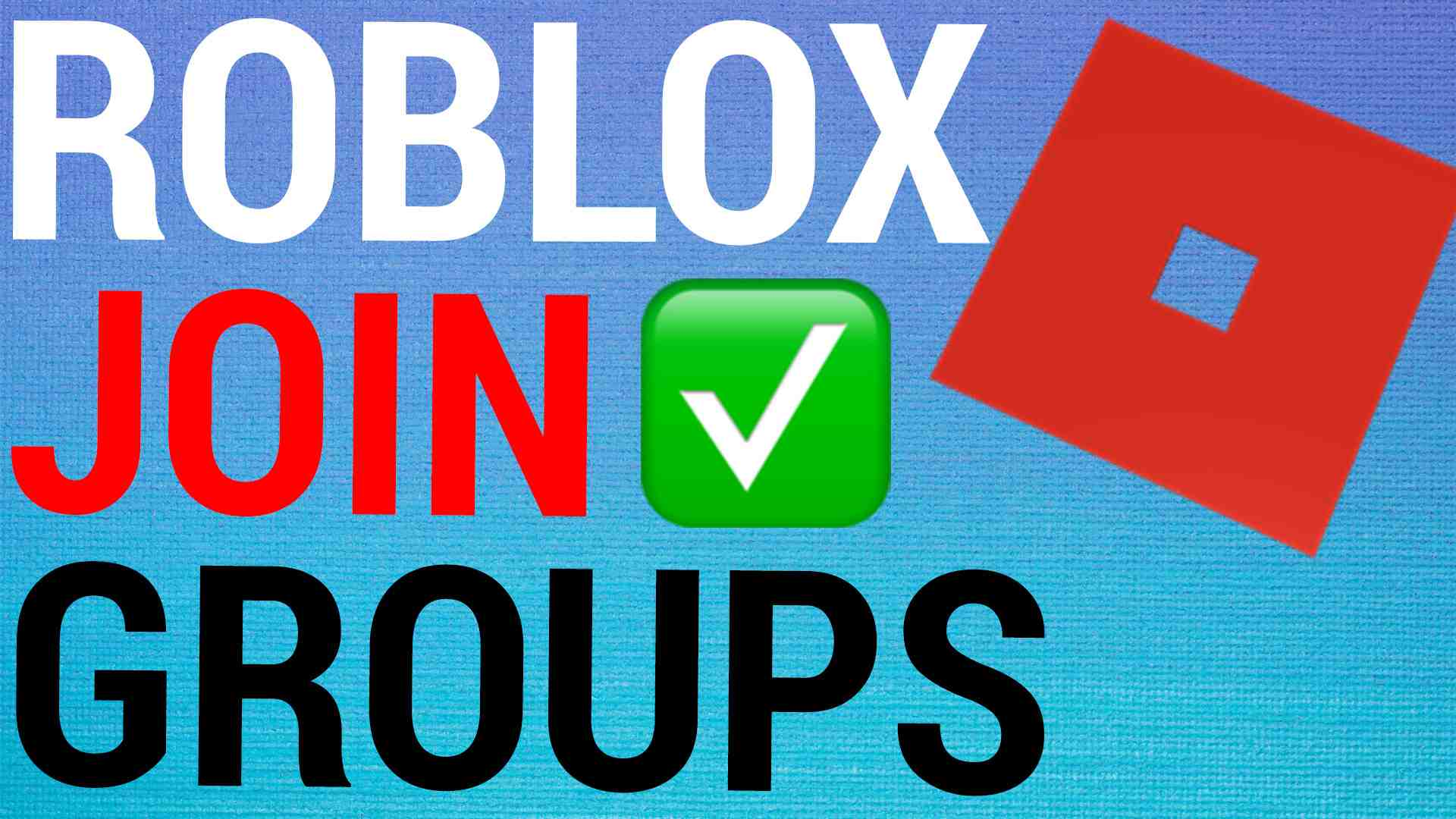 How To Join & Leave Groups on Roblox