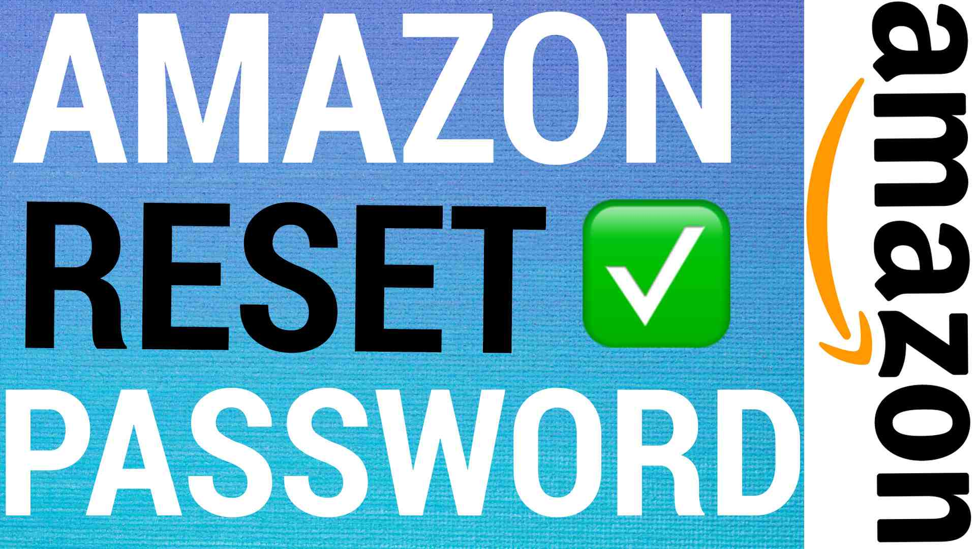 How To Reset Amazon Password
