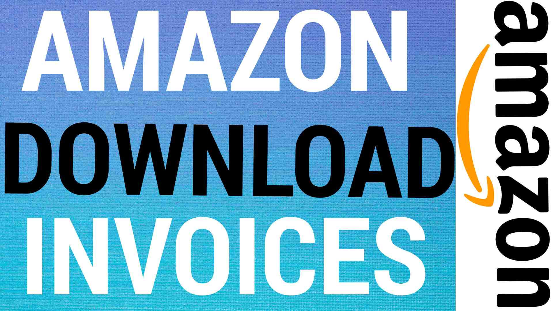 how to download invoices from amazon