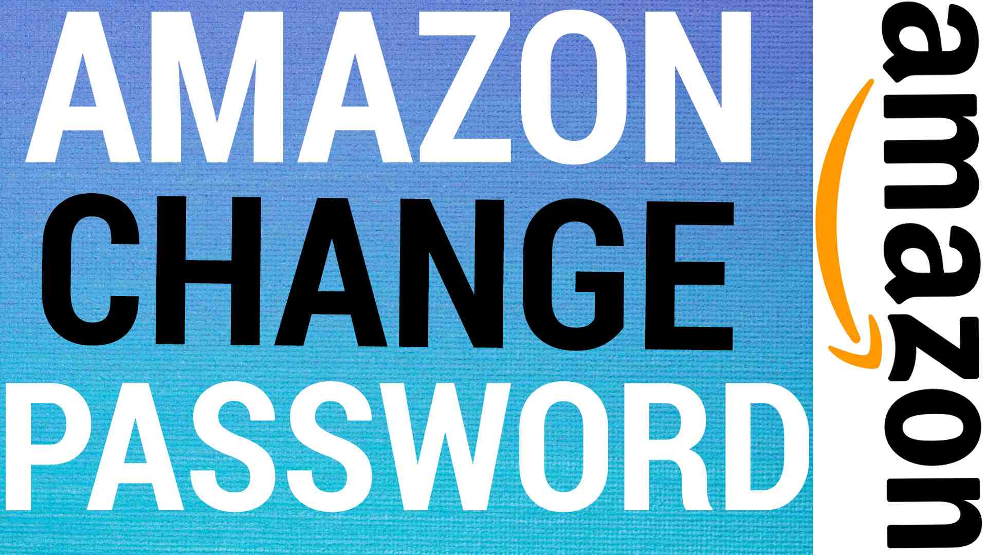 amazon change password