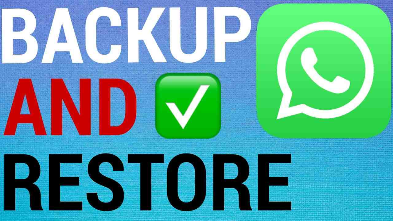 How To Backup & Restore on WhatsApp