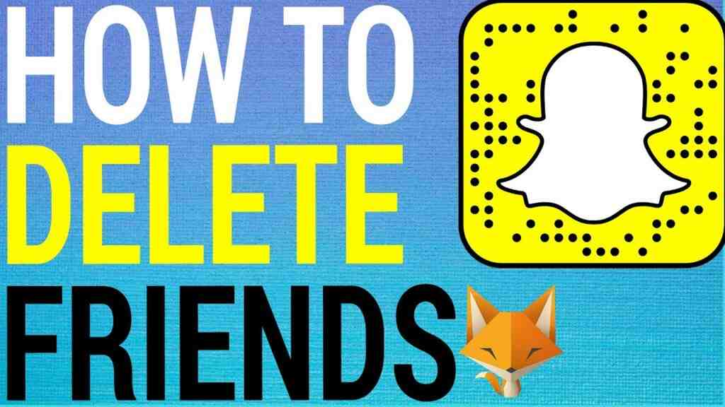 How To Delete / Remove Friends on Snapchat!