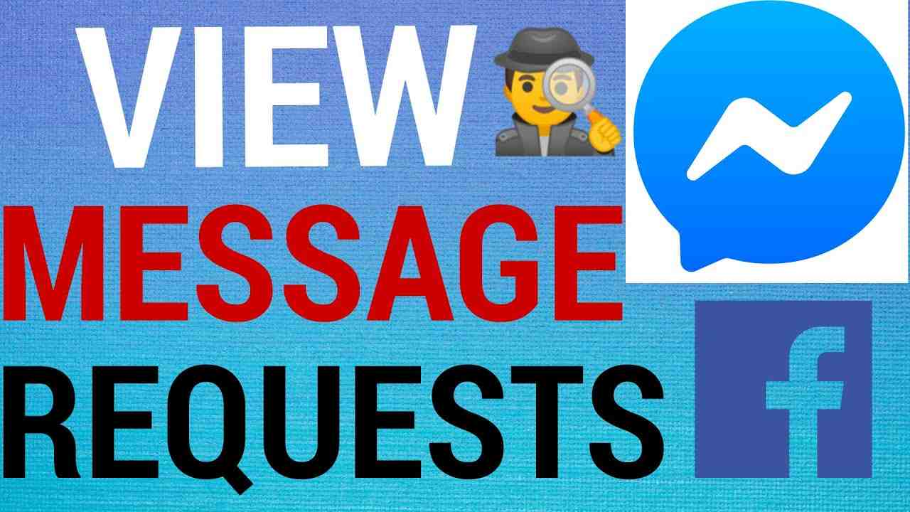 How To Find All Message Requests on Facebook Messenger