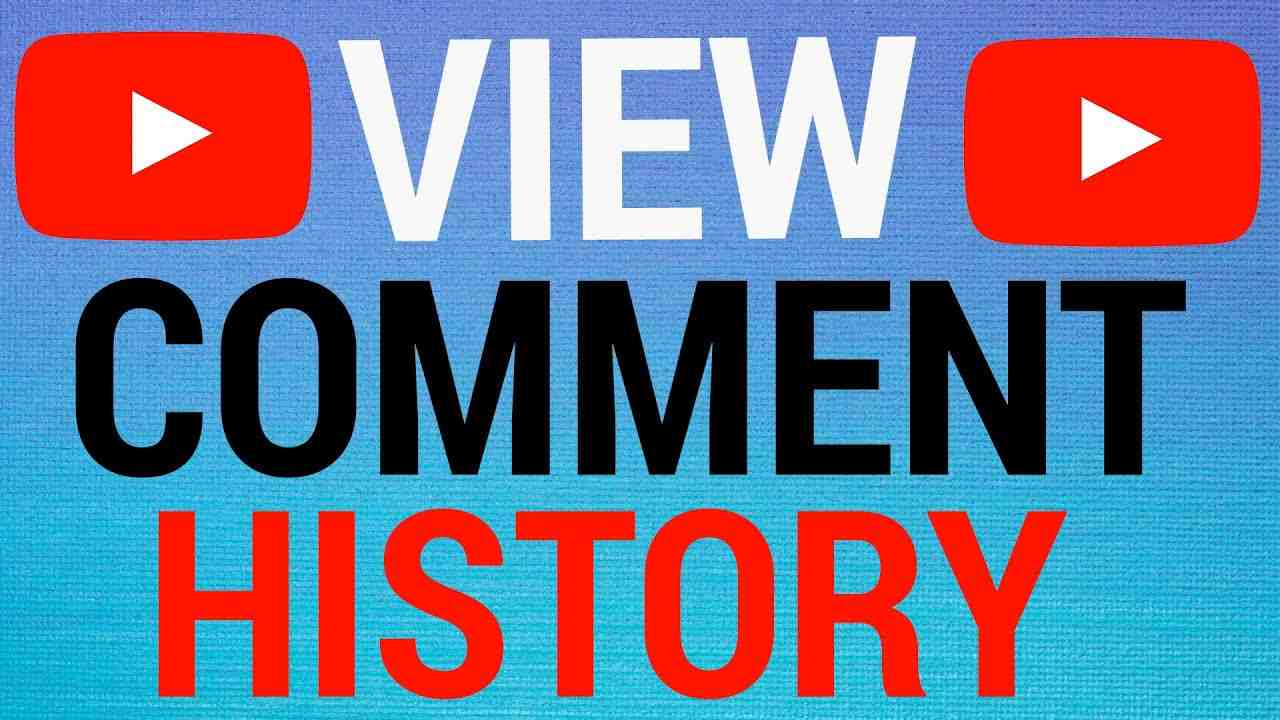How To View Your Entire Youtube Comment History!