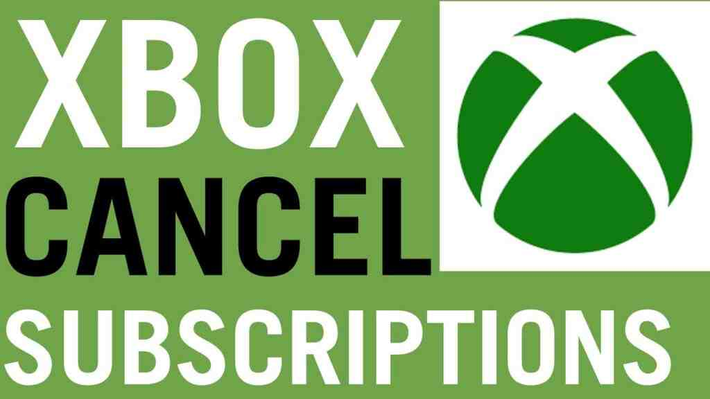 How To Cancel Xbox Live & Game Pass