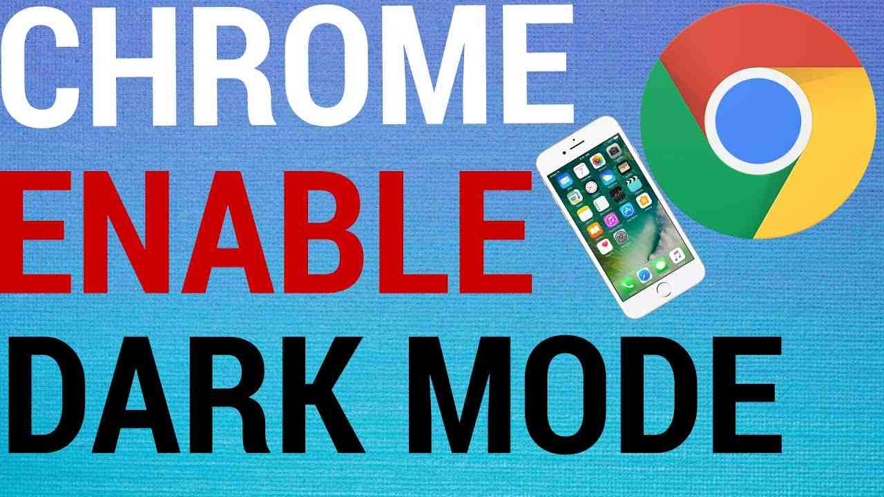 How To Enable Dark Mode on Chrome Mobile