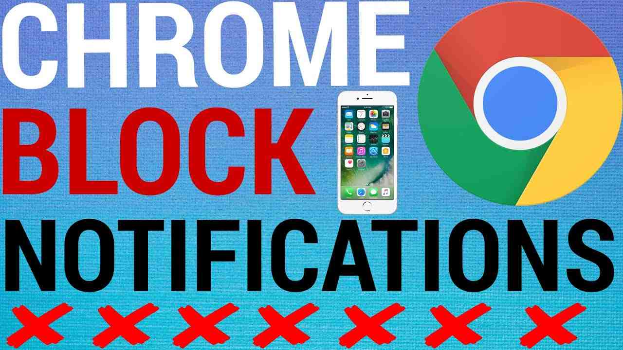 How To Block Website Notifications on Google Chrome App
