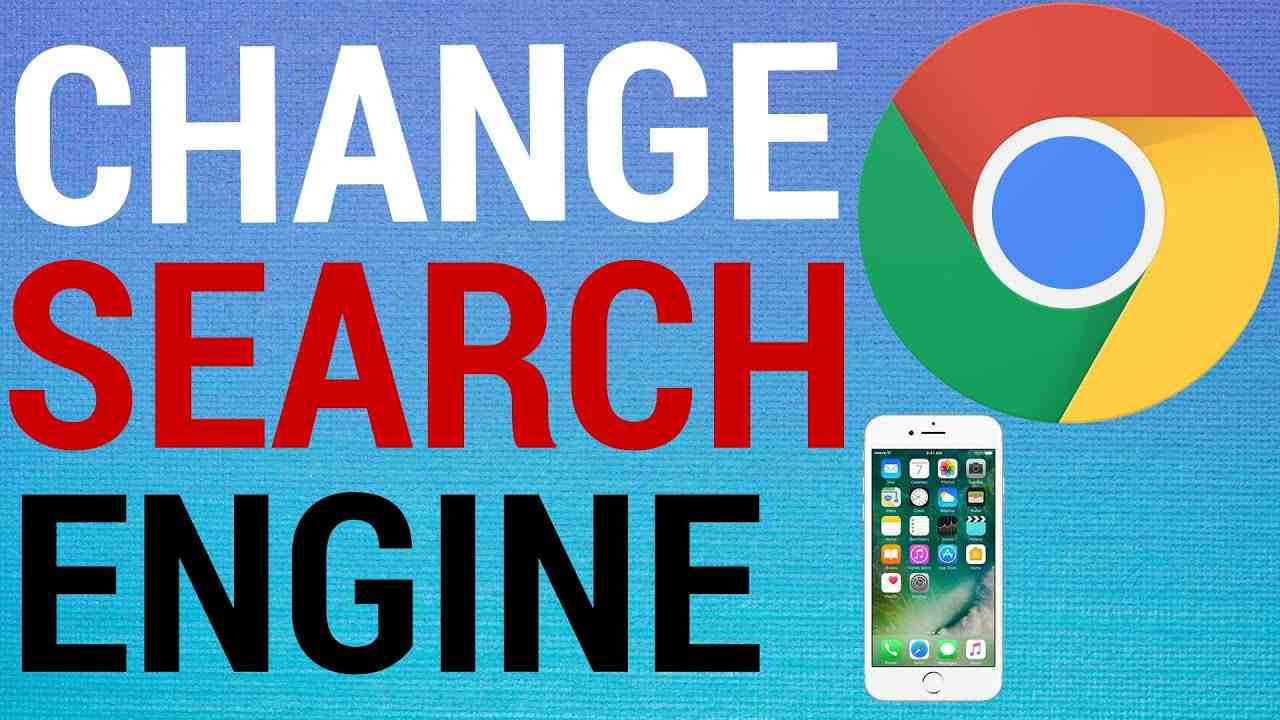 How To Change Chrome Search Engine on Mobile