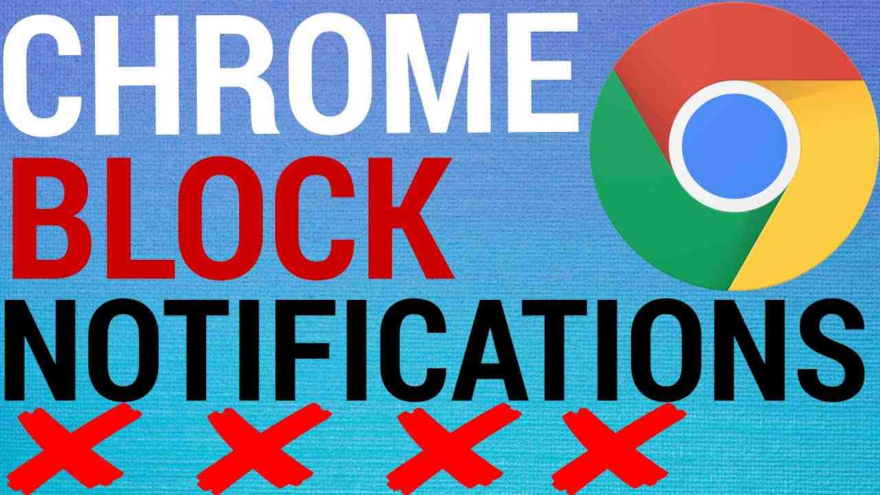 How To Block Notifications on Google Chrome (Desktop)