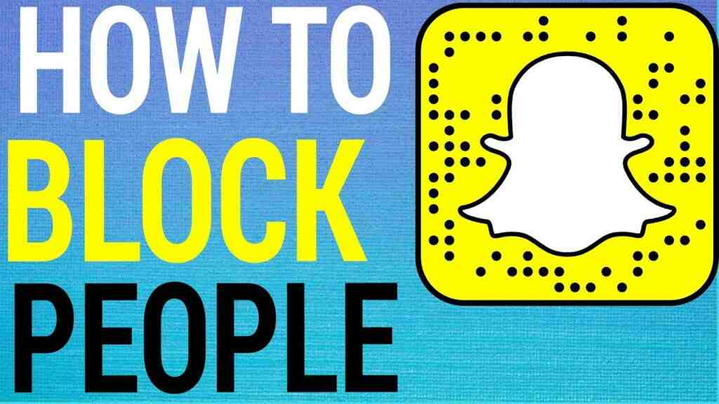 how to block people on snapchat