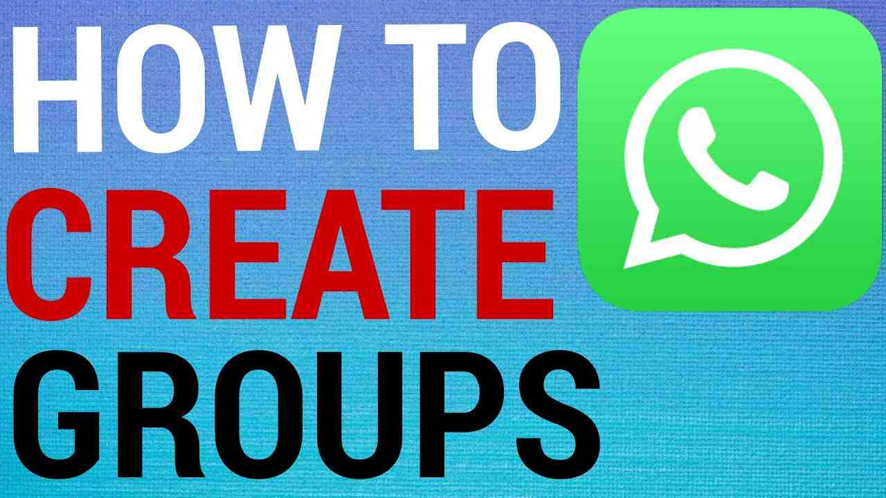 How To Create Groups on WhatsApp