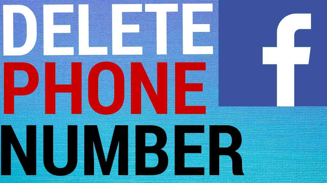 How To Remove Phone Number From Facebook!