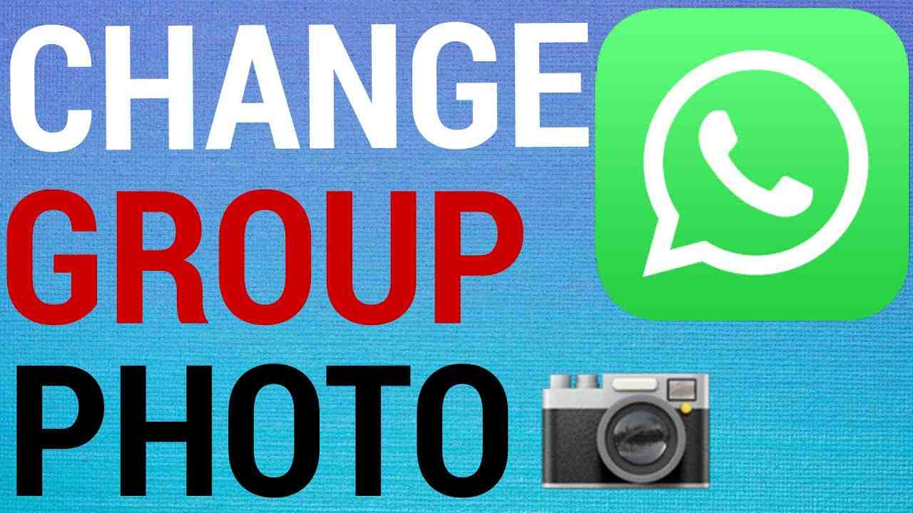 WhatsApp: How To Change Group Profile Picture