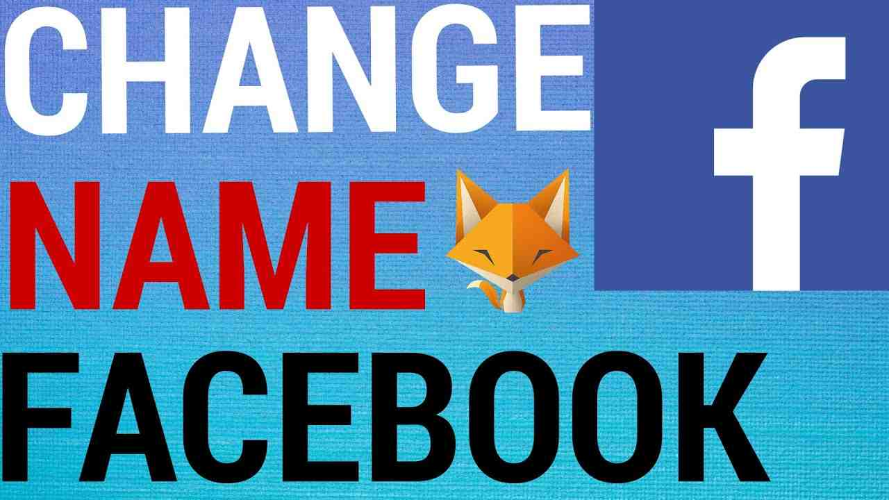 How To Change Your Name On Facebook!