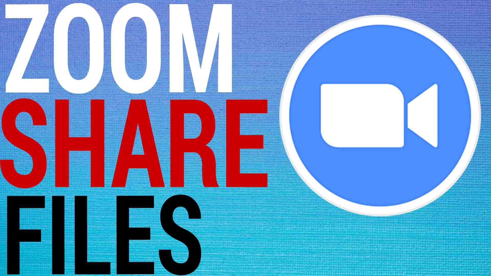 How To Share & Send Files On Zoom