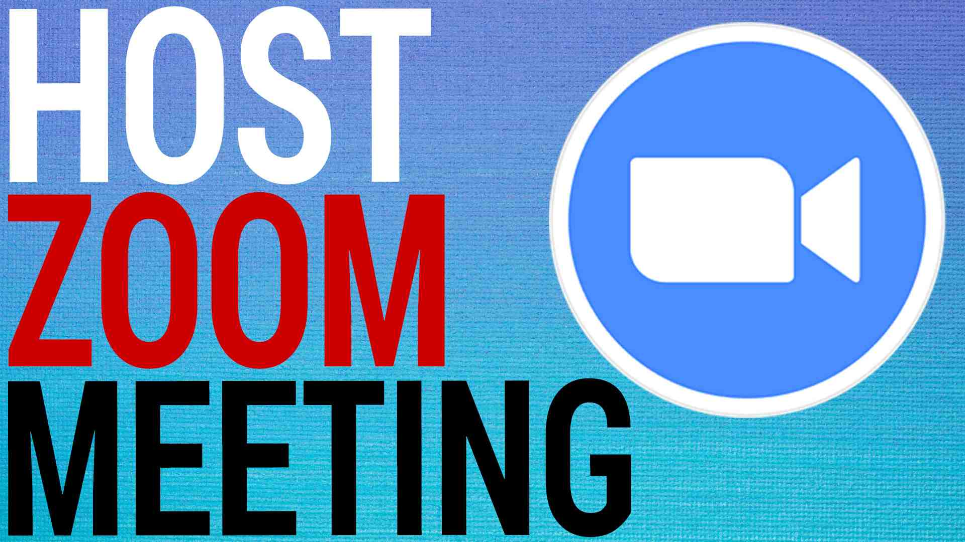 How To Schedule & Host Zoom Meetings