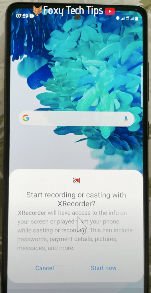 how to use xrecorder app