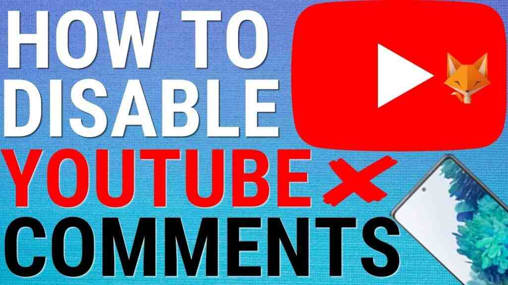 How To Turn Off Comments On Youtube Videos On Mobile